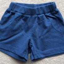Short basico em malha - Tam 06 a 09m
