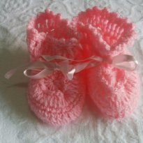 Sapato de lã RN Rosa ref 427 inverno