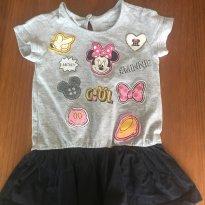 Vestido Minnie - C&A Disney Isabela Capeto