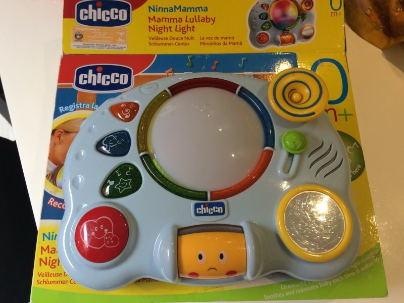 chicco mamma lullaby night light instructions