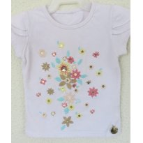 Camiseta com bordados da Poim