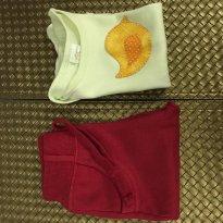 Kit 2 peças: Body manga curta e calça