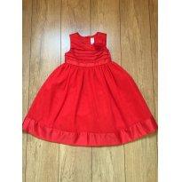 Vestido Vermelho Festa Carter