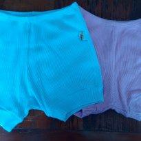 Kit shorts P e M