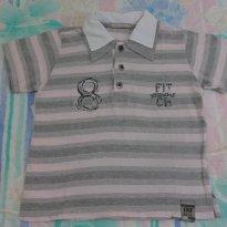 Camisa Polo INFANTILÂNDIA tamanho 3