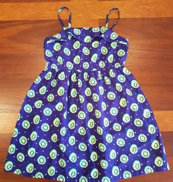 Lindo Vestido Kiwi 4 anos