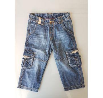 Calça Jeans Cargo Zara 12 a 18 meses