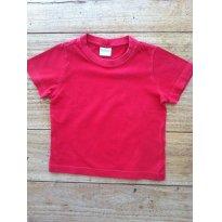 TYROL - Camiseta Básica Vermelha