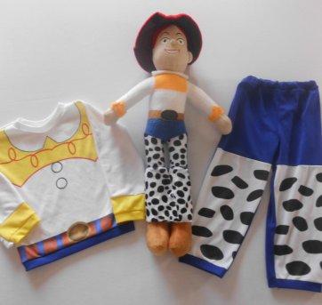 Fantasia Jessie - Toy Story- Tamanho 2