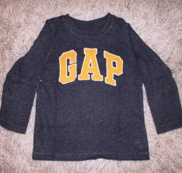 Camiseta Manga Longa GAP - Tamanho 3T