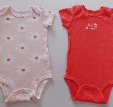 Kit Bodies Carter´s - 12 meses - 2 peças