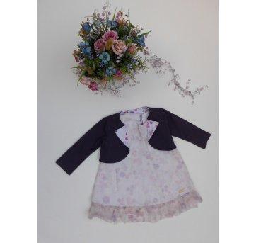 Vestido Lilica Ripilica - Tamanho 3P - 20 a 24 meses - 2 peças - Com bolero