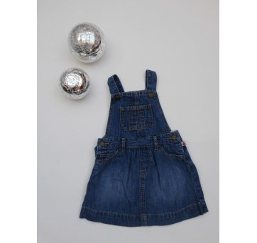 Jardineira Jeans  Gap - 12 a 18 meses