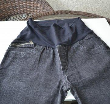 Gravidez - Calça Jeans (preta)
