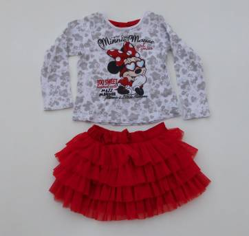 Conjunto Princesa Minnie - Tam:  2 anos - Impecável!!!