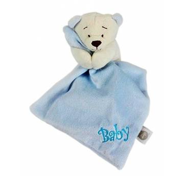 Naninha Mini Blanket Urso Baby -  Zip Toys - NUNCA USADA