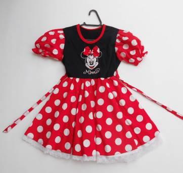 Fantasia Minnie -  Tamanho 3 a 4 anos  - Importada EUA -  Walt Disney -Original