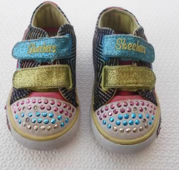 Tênis Skechers Infantil - Tamanho 21 - Descontão!!!!