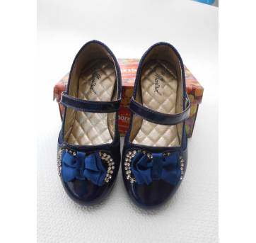 Sapato Azul Marinho - Tamanho 27 - Impecável!!!