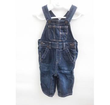 Jardineira Gap Jeans - Tam 9 a 12 meses