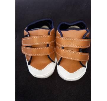 Sapato Bege - Bebê- Tamanho 15 - NOVO