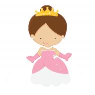 Brechó Infantil - Guarda roupa de princesa