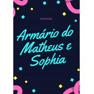 Brechó Infantil - Armário da Sophia e Matheus