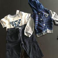 Conjunto guess - 3 a 6 meses - Baby Guess