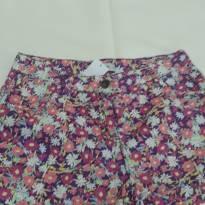 Shorts Floral - 12 anos - Fuzarka