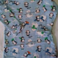 LINDO BODY DE PINGUINS - 6 a 9 meses - Up Baby