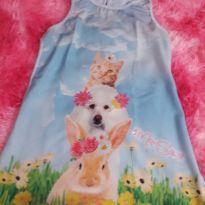 Vestidinho de bichinhos - 5 anos - Mon Sucré