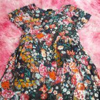 Vestidinho florido - 5 anos - Up Baby