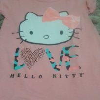 Blusa rosa Hello - 4 anos - Hello  Kitty