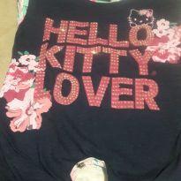 Blusa da Hello com nozinho - 6 anos - Hello  Kitty