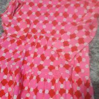 Vestido rosa manga longa - 4 anos - Carter`s