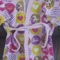 Roupão  da Barbie - 3 anos - pernambucanas