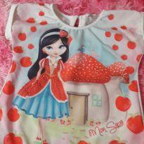 Blusa  com maçãs - 5 anos - Mon Sucré
