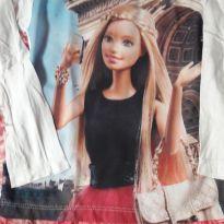 Blusa Barbie - 5 anos - Barbie