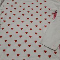 Blusa de corações - 6 anos - Yeaqp