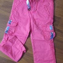 Calça rosa - 3 anos - Tommy Hilfiger