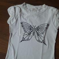 Blusa borboleta - 4 anos - FiKaben