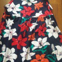 Vestido florido - 7 anos - Hering Kids