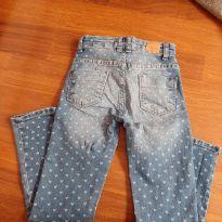 Calça jeans coraçao - 6 anos - Girls