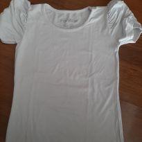 Blusa branca - 8 anos - Rovitex Kids