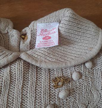 Blusa de lã Lilica - 2 anos - Lilica Ripilica