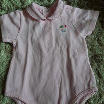 Body rosa - 9 meses - Chicco