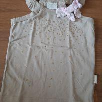 Blusa regatinha com brilho - 2 anos - Quimby