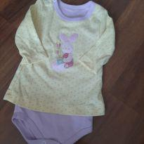 Tip top blusa coelho - 3 a 6 meses - Sanny baby