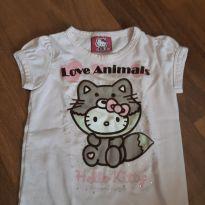 Blusa Hello Kitty - 2 anos - puc, hello kitty e hering