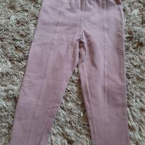 Calça legging  rosa - 1 ano - Kiki Xodó